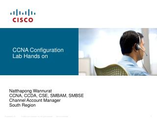CCNA Configuration Lab Hands on