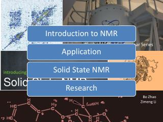 introducing Solid State NMR