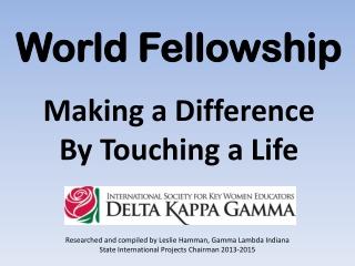World Fellowship