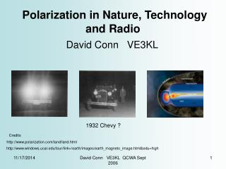 Polarization in Nature, Technology and Radio