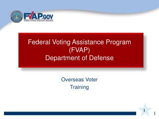 Overseas Voter Training