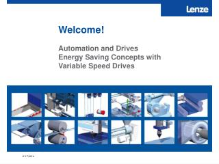 Automation and Drives Energy Saving Concepts with  Variable Speed Drives