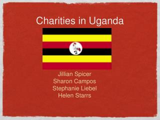 Charities in Uganda