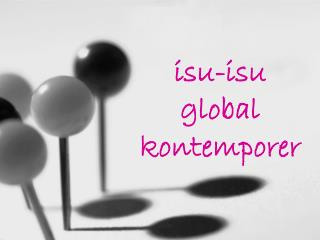 isu-isu global kontemporer