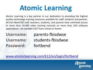 Username:  parents- fbisdwse Username:  students- fbisdwse Password:  fortbend