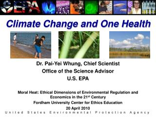 Climate Change and One Health