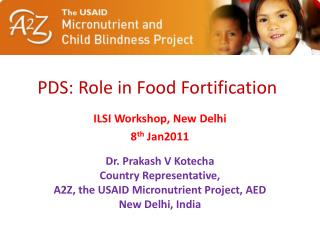 PDS: Role in Food Fortification