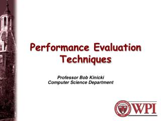 Performance Evaluation Techniques