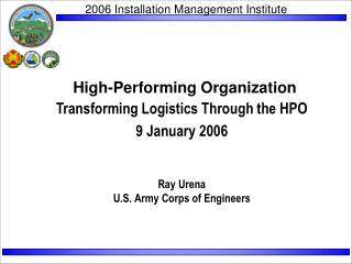 High-Performing Organization