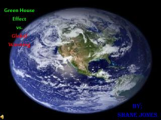 Green House Effect  vs. Global Warming