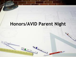 Honors/AVID Parent Night