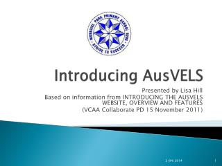 Introducing  AusVELS