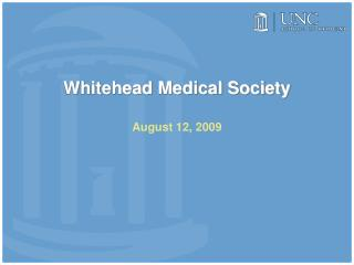 Whitehead Medical Society