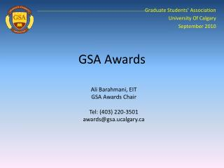 GSA Awards