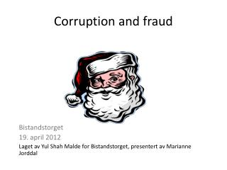 Corruption and fraud