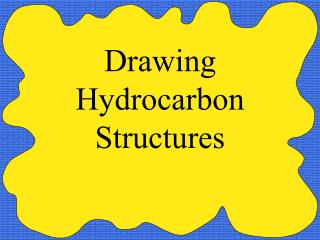 Drawing Hydrocarbon Structures