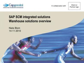 SAP SCM integrated solutions Warehouse solutions overview
