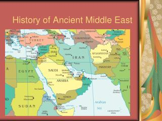 history middle east