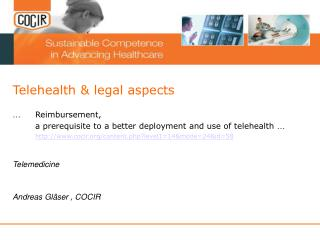 Telehealth & legal aspects