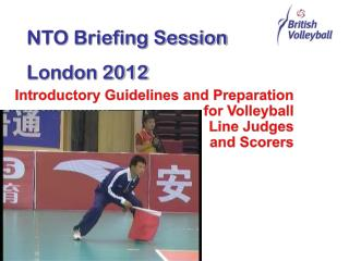 Introductory Guidelines and Preparation for Volleyball Line Judges and Scorers