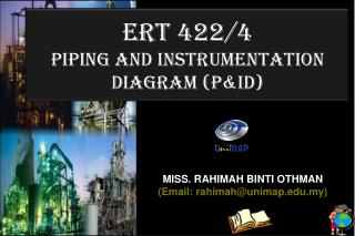 ERT 422/4 Piping and instrumentation diagram ( P&id )
