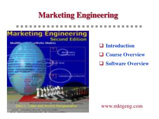 Marketing Engineering