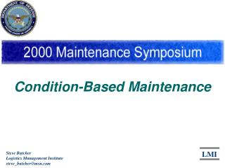 Condition-Based Maintenance
