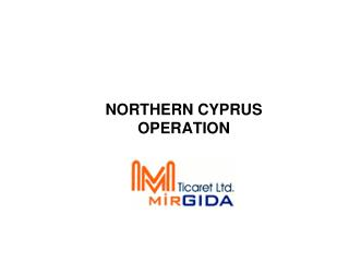 NORTHERN CYPRUS OPERATION