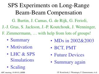 SPS Experiments on Long-Range Beam-Beam Compensation
