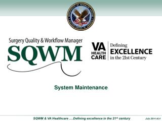 Surgery Quality and Workflow  Manager