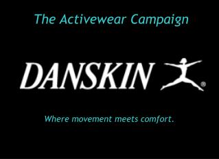 The Activewear Campaign