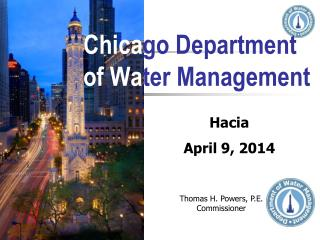 Chica go Department of Wa ter Management