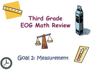 Third Grade  EOG Math Review