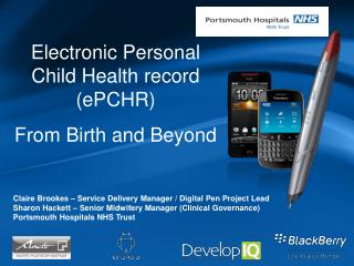 Claire Brookes – Service Delivery Manager / Digital Pen Project Lead