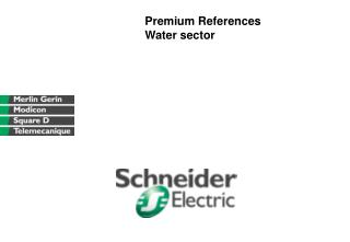 Premium References  Water sector