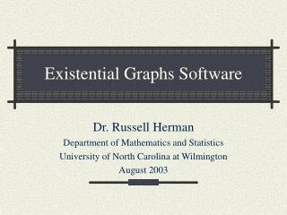 Existential Graphs Software