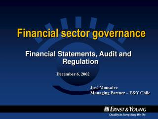 Financial sector governance