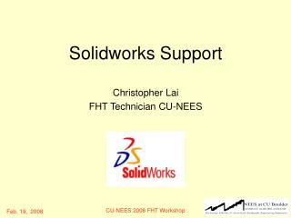 Solidworks Support