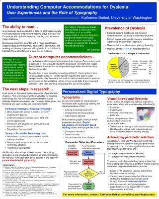 Prevalence of Dyslexia