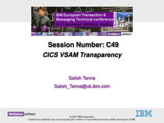 CICS VSAM Transparency