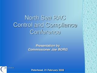 North Sea RAC Control and Compliance Conference