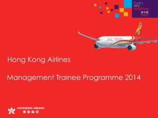 Management Trainee Programme 2014