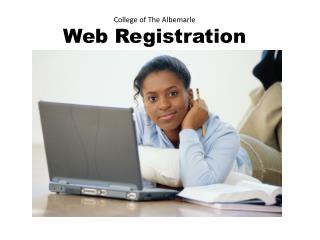 College of The Albemarle Web Registration