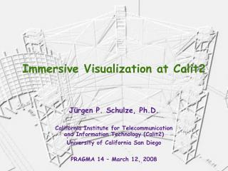 Immersive Visualization at Calit2