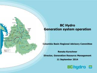 BC Hydro Generation system operation