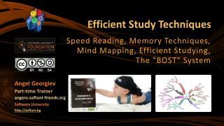 Efficient Study Techniques