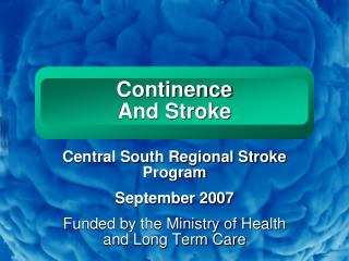 Continence  And Stroke