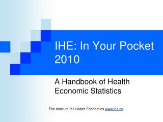 IHE: In Your Pocket 2010