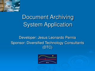 Document Archiving  System Application