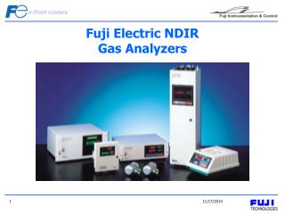 Fuji Electric NDIR Gas Analyzers
